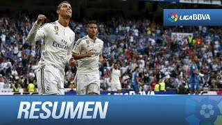 Resumen de Real Madrid (7-3) Getafe CF
