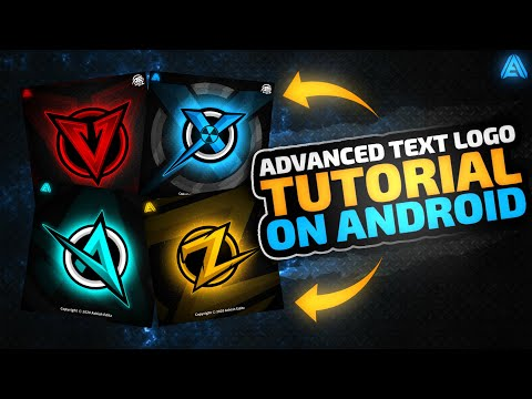 How to Make Gaming Logo on Android | Gaming Logo Design.