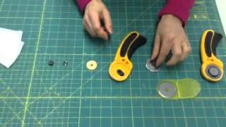 How to Properly Change your Rotary Cutter Blade