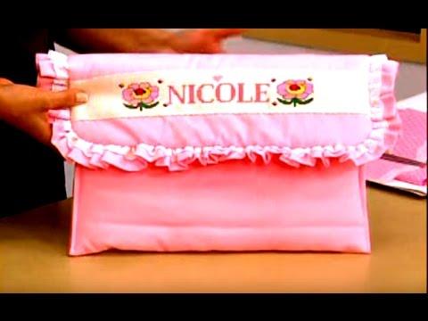 f02961640 Sobre para la ropa de clinica del bebe. Sonia Franco. 1/3 - YouTube