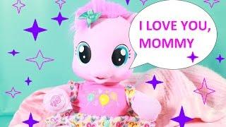Pinky Pie MLP My Little Pony So Soft Learns to Walk Bottle Binky Baby Doll