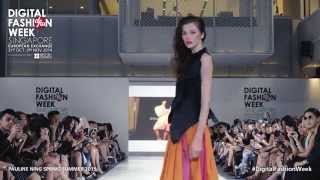 Pauline Ning Spring Summer 2015 | #DigitalFashionWeek Singapore 2014