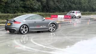 Audi TT-RS drift awd