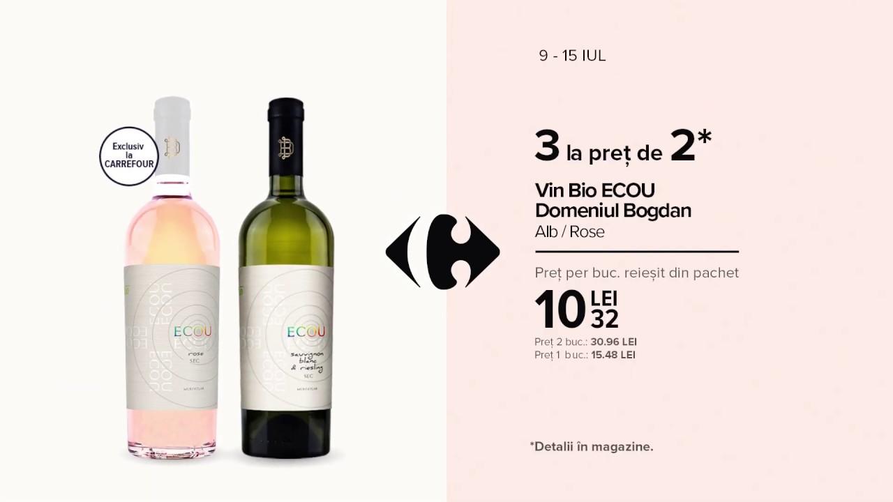 Deschidem Vinul Romanesc | Vin Bio ECOU Domeniul Bogdan