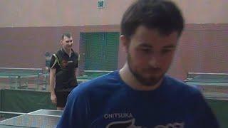 Алексей УЛАНОВ - Дмитрий ОСИПОВ Настольный теннис, Table Tennis