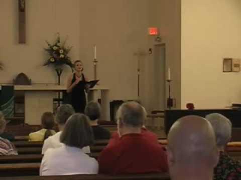 Seguedilla Religioso Sarah Williams.wmv