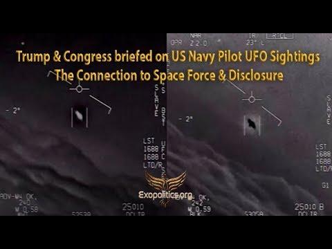 Trump, Fuerza Espacial Y OVNIs