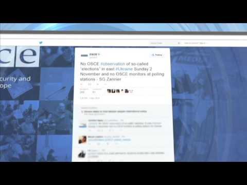 Illegal East Ukraine Insurgent Vote: OSCE Refutes Russian Observer Claims