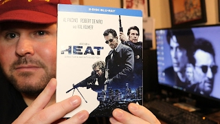 HEAT ( 1995 ) | Brand New DIRECTOR'S DEFINITIVE EDITION Blu Ray