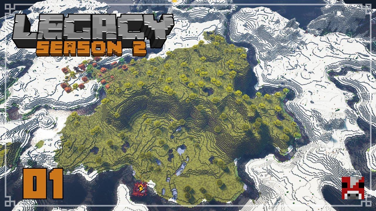 Legacy Season 2 - 01 - Our Adventure Begins.... AGAIN!!! | Survival Minecraft SMP 1.16