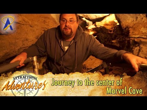 Journey To The Center Of Marvel Cave At Silver Dollar City - Attractions Adventures
