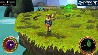 Jak and Daxter: The Lost Frontier - PSP Gameplay 1080p (PPSSPP)