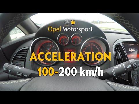 OPC Astra J Motorsport [stage 2] 100-200 km/h