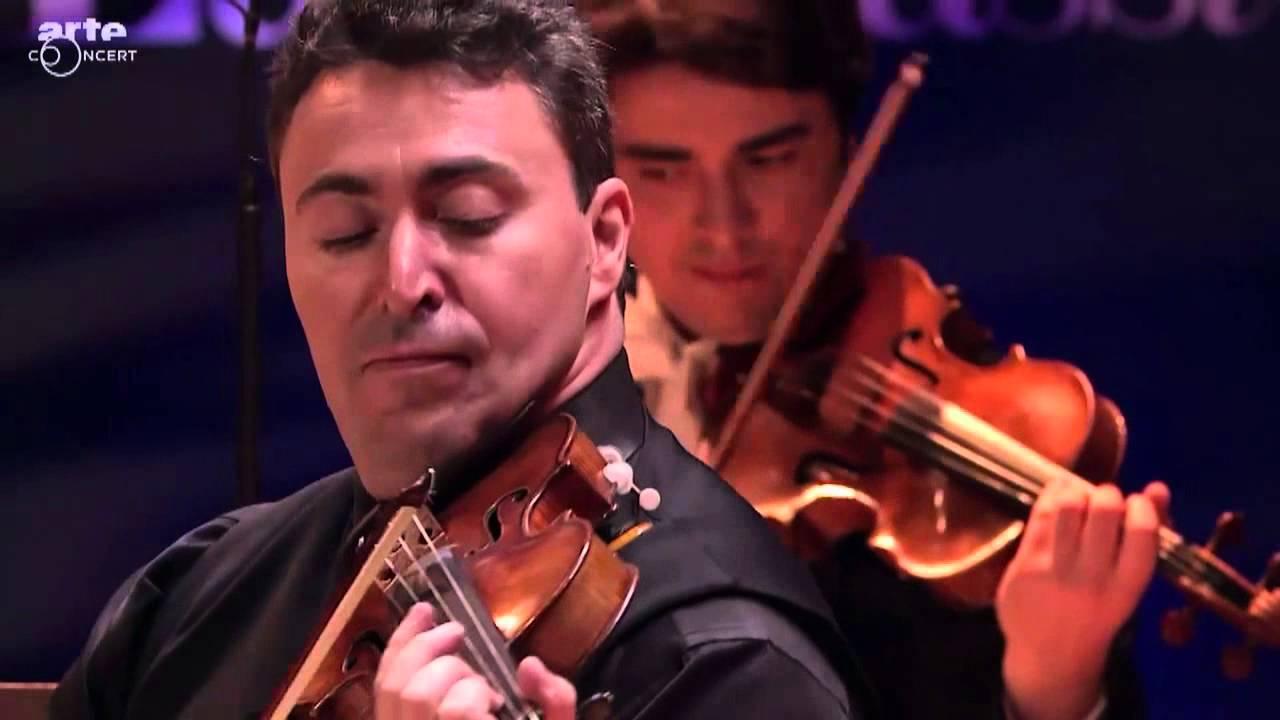 Maxim vengerov danse hongroise n 5 brahms youtube for Dans hongroise n 5