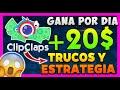 CLIPCLAPS TRUCOS Y ESTRATEGIA GANA MAS DINERO 🤑 Clip Clap TRUCO ACUARIO COIN CAT Y SUBIR VIDEOS 💜