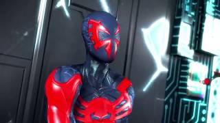 Бэтмен будущего против человека паука 2099 (другой конец)