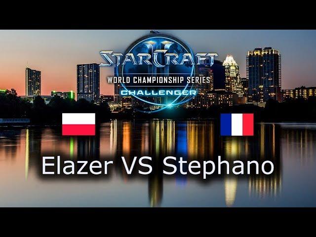 Elazer VS Stephano - EU Open Qualifiers for Challenger WCS Austin 2018 - polski komentarz