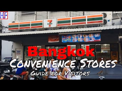 Bangkok | Convenience Stores | Travel Guide | Episode# 5