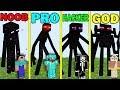 Minecraft Battle Noob Vs Pro Vs Hacker Vs God Enderman Battle Funny Minecraft Trolling Maps mp3