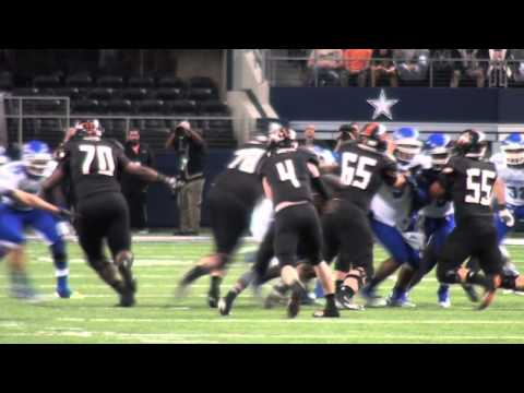 Aledo Holds Off Temple in Amazing 4th Quarter to win 6th State Title