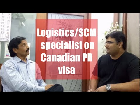 Tushar, Our Logistic Specialist Canadian PR Visa Got Client With Manoj Palwe