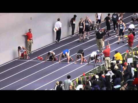 Men's 60M Dash, UW Dempsey Indoor Track & Field 2012