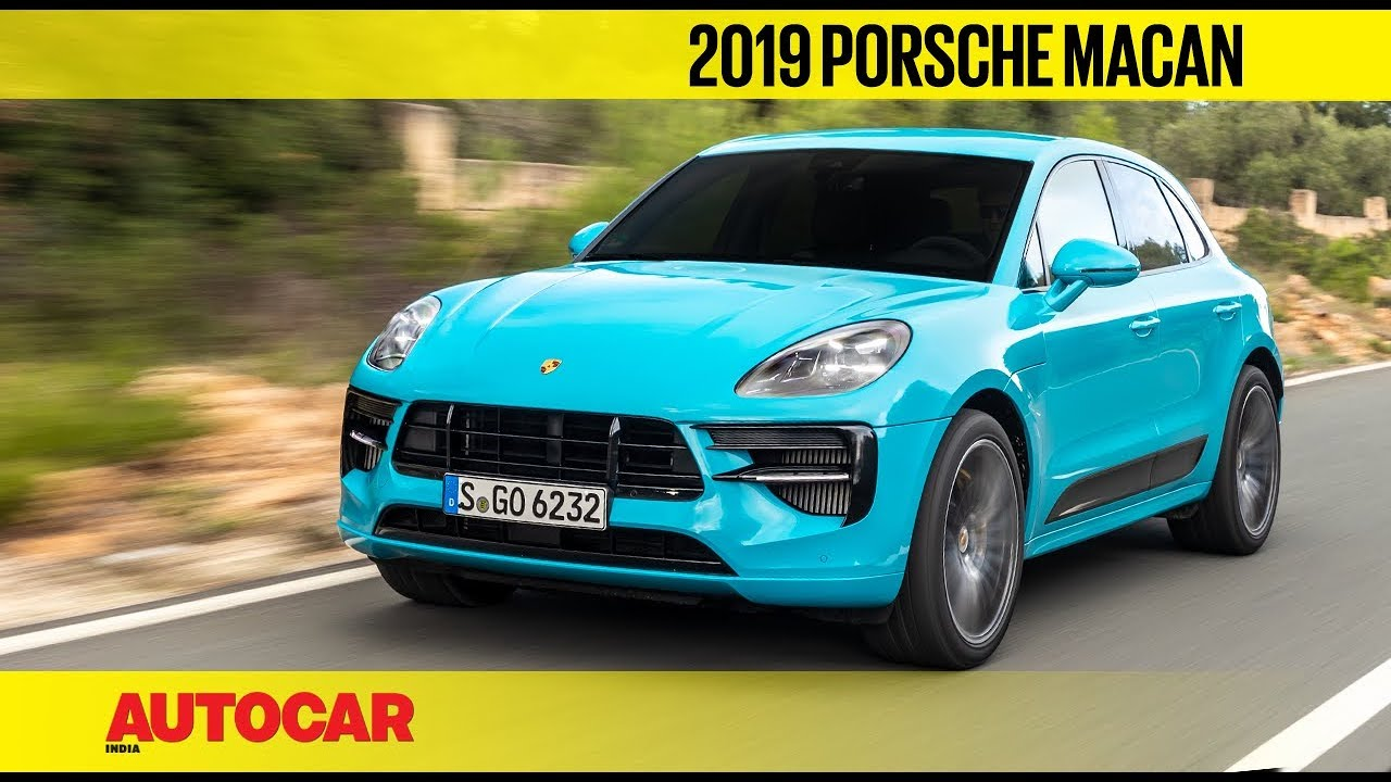 Exclusive 2019 Porsche Macan Facelift First Drive Review Autocar India