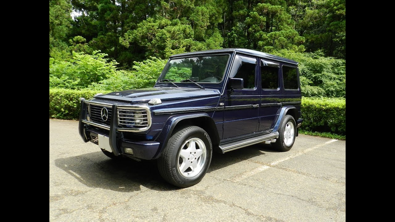 Amg g36 long 39 1997 youtube for Mercedes benz g36