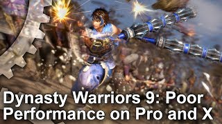 [4K] Dynasty Warriors 9: The Lowest Performance We've Seen on Xbox One X and PS4 Pro