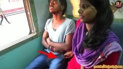 सावधानी हटी - दुर्घटना घटी , ट्रैन में ये लड़की पलक झपकते ही चुराती हैं मोबाइल
