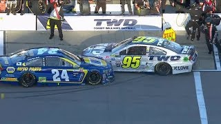 Scariest NASCAR Pit Road Incidents of 2017!