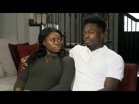 HEART-BREAKING LOSS:  49ers receiver Marquise Goodwin and his wife Morgan talk about the loss of the