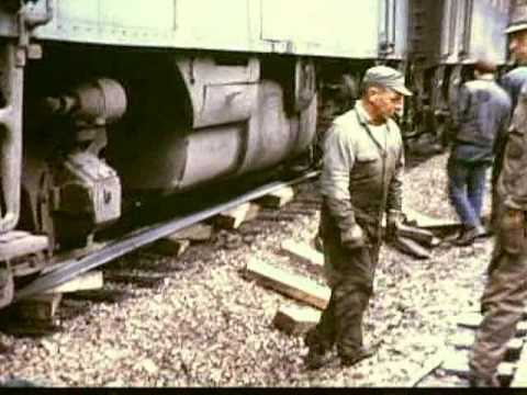 GREAT NORTHERN RAILWAY--Historical Video---part 2 of 4