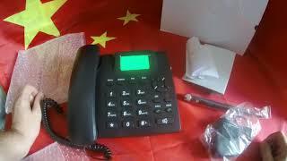 стационарный gsm телефон теперь не только на русском , но и на 2 сим - карты