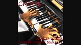 CHOPIN Waltz op 64 no 1 Minute in D flat major(HD) - Pianist Michel Mananes Live