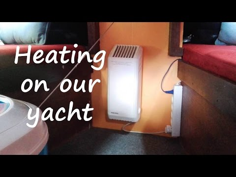 Baltic sailing #4 - Heating on our yacht.