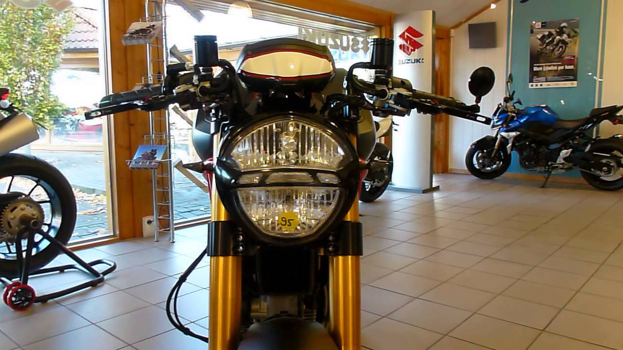 Ducati Monster 1100 Evo Cafe Racer With Remus
