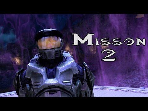 Halo Ce Anniversary - Halo - Mission 2 (1080p60fps) Xbox One MCC