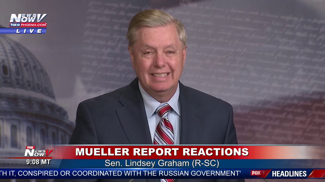 BREAKING: Lindsey Graham DEMANDS Democrat Investigations After Mueller Report