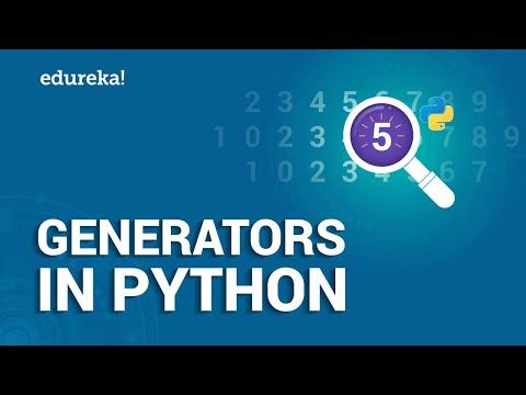 Generators in Python   Applications of Python Generator Functions   Python Tutorial   Edureka thumbnail
