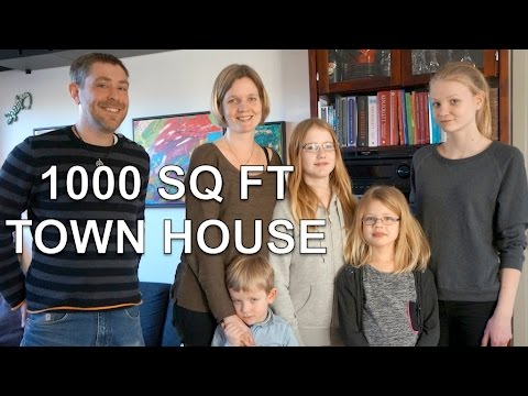 Family Of 6 In Small Space Town House In Denmark Youtube