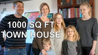 Family Of 6 In Small Space, Town House In Denmark