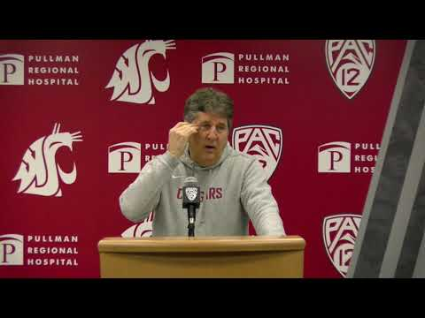 WSU Football: Mike Leach Press Conference 11/4/19