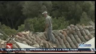 Terremoto, INGV: l'Appennino si lacera e la terra trema