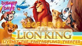 Legend of the Lion King LIVE at the Fantasyland Theatre Walt D…