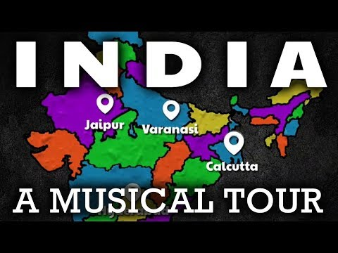 India Song for Kids | Learn About India For Kids | India Geography & Culture