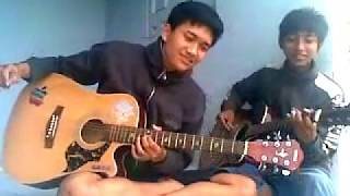 J Rocks Lepaskan Diriku Acoustic Guitar Instrumental Cover by Dedie Kun