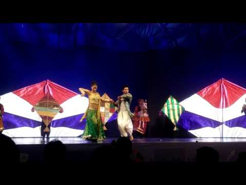 Performance by Bollywood Merchants at Global Village, Dubai p6