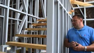 Лестница в доме из профилей ЛСТК(Это видео создано с помощью видеоредактора YouTube (http://www.youtube.com/editor), 2015-11-04T18:56:43.000Z)