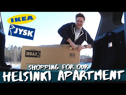 Shopping for our Helsinki apartment